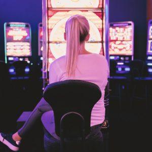 casino, adult, woman